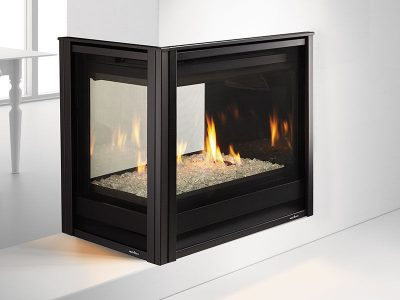 Heat & Glo | Pier-36TR Modern See Through Gas Fireplace | Buy Modern 3-Sided Gas Fireplace Installed | Ottawa | Carleton Place | Perth