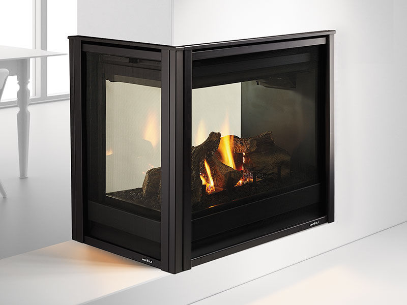 Heat Amp Glo Pier 36tr See Through Gas Fireplace Top Hat