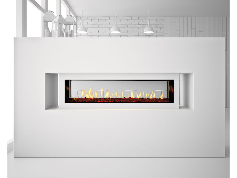Astounding Heat Glo Primo See Through Gas Fireplace Top Hat Home Download Free Architecture Designs Scobabritishbridgeorg