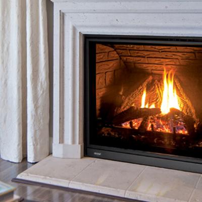 Enviro Q3 Canadian Gas Fireplace Installed Ottawa Carleton