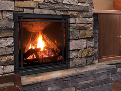 Enviro Q3 Canadian Gas Fireplace Installed | Ottawa | Manotick Ontario