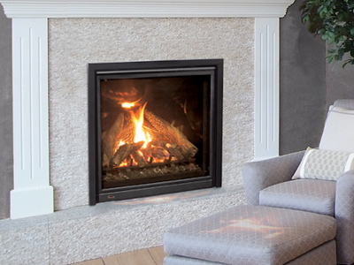 Enviro Q3 Natural Gas Fireplace Installed | Ottawa | Manotick Ontario