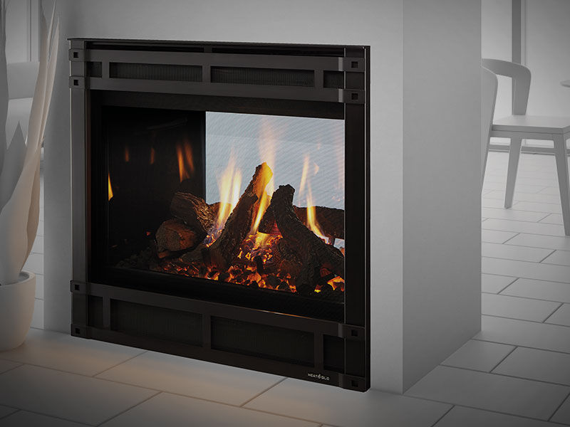 Special Savings Heat Glo St 36 See Through Gas Fireplace