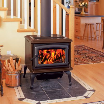 Pacific Energy Summit Classic Large Wood Stove Installation | Ottawa | Manotick
