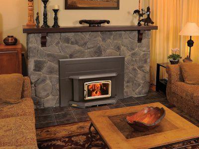 Pacific Energy Summit Large Wood Burning Fireplace Insert Installed | Ottawa | Manotick