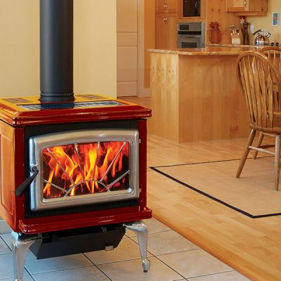 Pacific Energy Super 27 Classic Enameled Wood Stoves Installed | Ottawa | Manotick Ontario