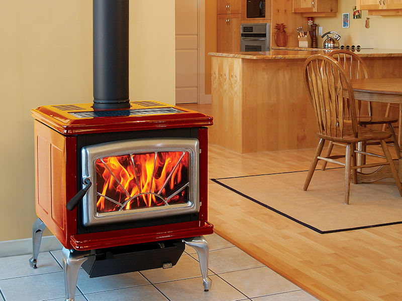 Pacific Energy Super 27 Clic Enameled Wood Stoves Installed Ottawa Manotick Ontario