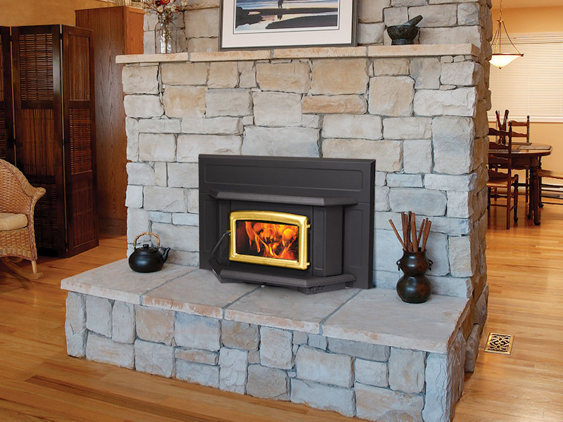 Pacific Energy Super Fireplace Insert Top Hat Home