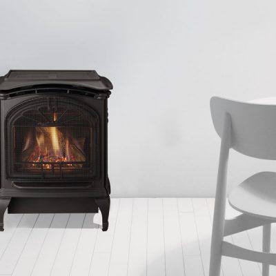 Heat & Glo Tiara Petite | Small Cast Iron Gas Stove | Ottawa | Arnprior