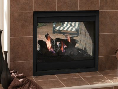 Heat & Glo | Indoor/Outdoor Twilight II Gas Fireplace | 2-Sided See Through Gas Fireplace Inside Outside | Ottawa Carleton | Perth | Almonte