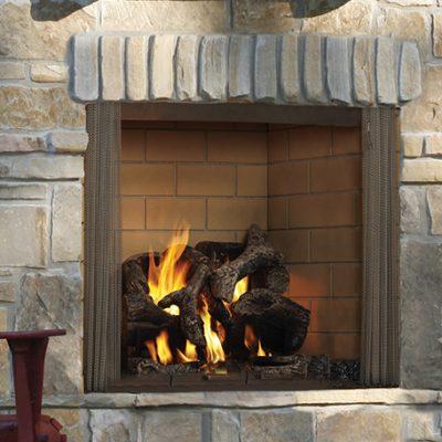 Castlewood Wood Burning Outdoor Fireplace | Ottawa | Carleton Place