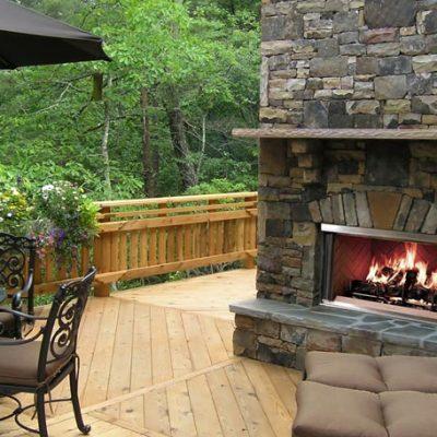 Montana Outdoor Wood Fireplaces | Ottawa | Carleton Place Fireplace Store