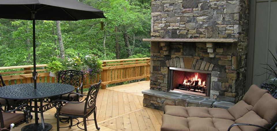 Quadra Fire Montana Outdoor Wood Fireplaces Outdoor Fireplaces