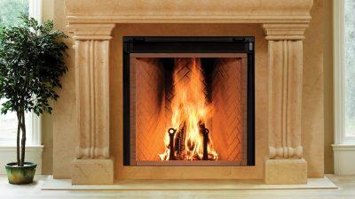 Renaissance Rumford 1500 Large Wood Fireplace | Ottawa Fireplace Store