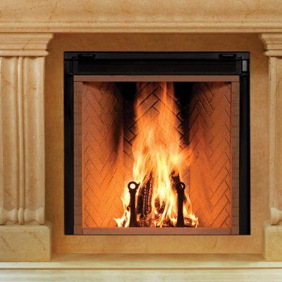 Renaissance Rumford 1500 Large Wood Fireplace   Ottawa Fireplace Store