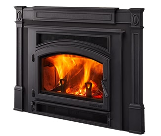 QuadraFire Expedition II Wood Burning Insert WETT Certified Installation - Carleton Place Ontario